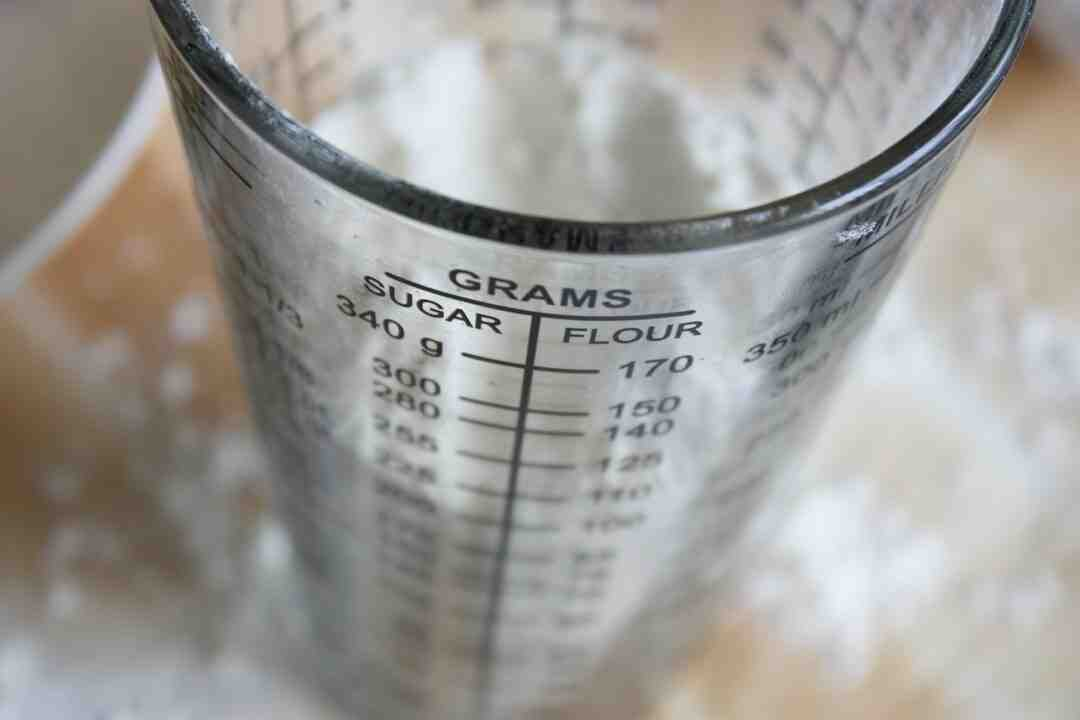 Comment mesurer 30 g d'huile ?